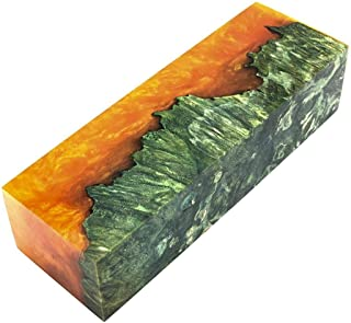 Stabilized Maple Wood Burl Knife Scales for Exotic Turning Making Knives Handles