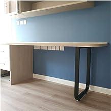 Furniture legs Zwart ijzeren eettafelpoten, gouden bureautafel, computer bureaupoten bankpoten, industrieel modern, set van 1
