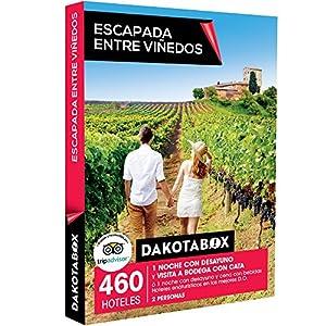 Smartbox DAKOTABOX - Caja Regalo - ESCAPADA Entre VIÑEDOS - 460 hoteles enoturísticos en Las Mejores D.O. de España y Francia