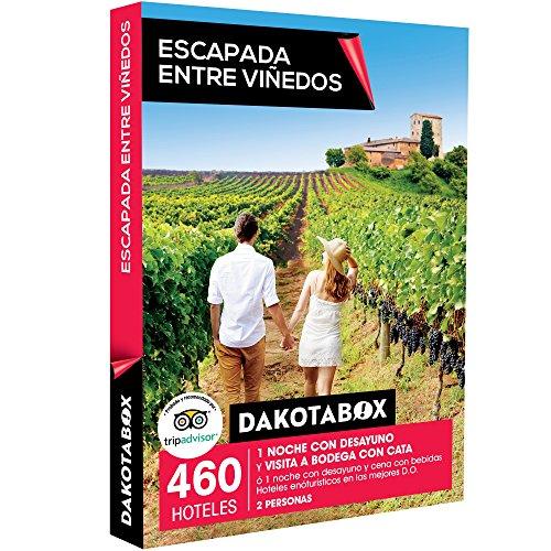 Smartbox DAKOTABOX - Caja Regalo - ESCAPADA Entre VIÑEDOS - 460 hoteles enoturísticos en Las...