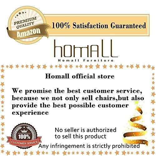 Homall Walnut Bentwood Adjustable Bar Stool