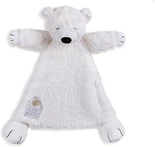 Nat and Jules On The Night You Were Born Polar Bear Bright White Children's Plush Stuffed Animal Toy Blanket