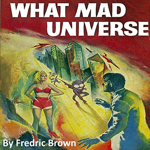 What Mad Universe audiobook cover art