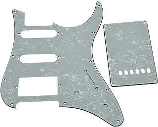 kaish blanco perla con HSS Golpeador de guitarra trémolo placa trasera para guitarra Yamaha Pacifica