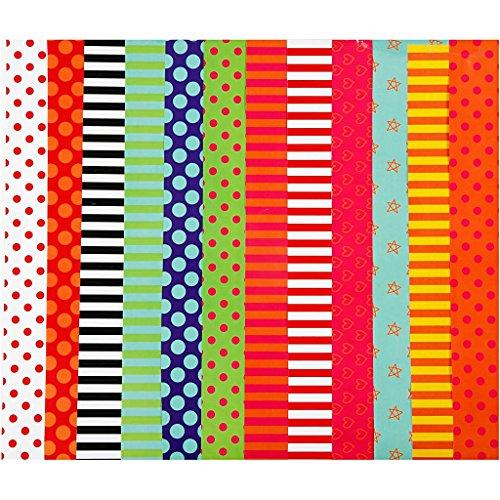 Geglazuurd papier met print, vel 24x32 cm, 80 cm, asstd kleuren, 50asstd vellen
