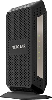 NETGEAR Cable Modem CM1000 - Works with XFINITY from Comcast (not compatible with Cable bundled voice services)