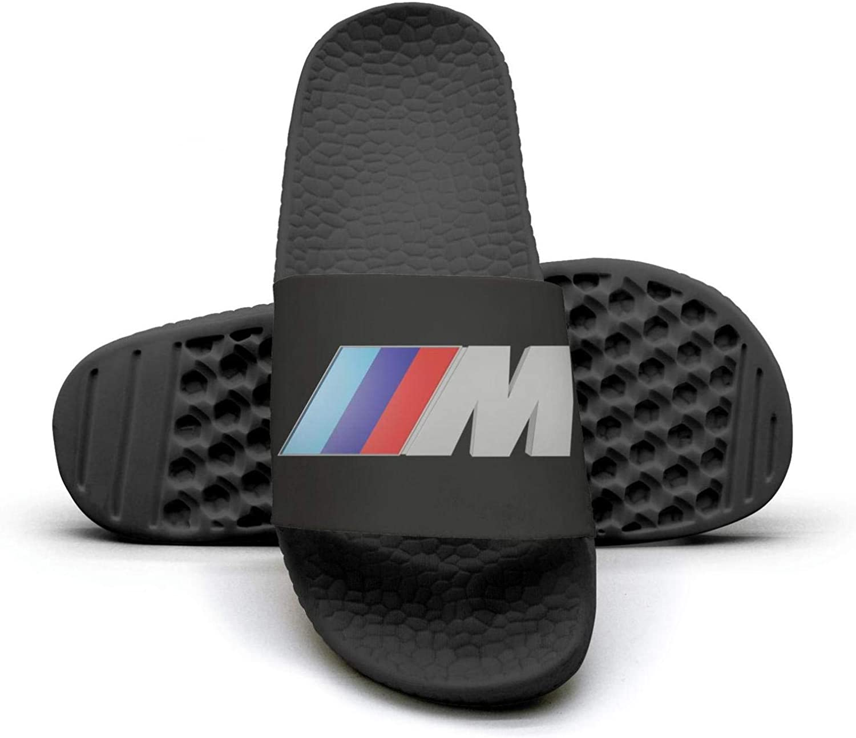 EIGKASL Printed Non-Slip Slipper Slide flip Flop Sandals BMW-Logo-m-Symbol-Summer Casual for Womens