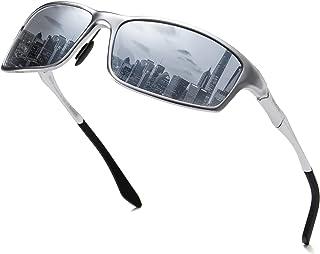 DUCO Men's Driving Sunglasses Polarised Glasses Sports Eyewear Fishing Golf Goggles 8201