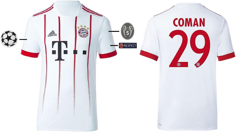Trikot Herren FC Bayern Bayern Bayern 2017-2018 Third UCL - Coman 29 B074TJDQYZ  Abholung in der Boutique 2f0829