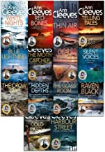 Ann Cleeves TV Shetland & Vera Series Collection 14 Books Set (Telling Tales, Harbour Street, Silent Voices, Hidden Depths, The Glass Room, The Crow Trap, The Moth Catcher, Blue Lightning, Raven Black