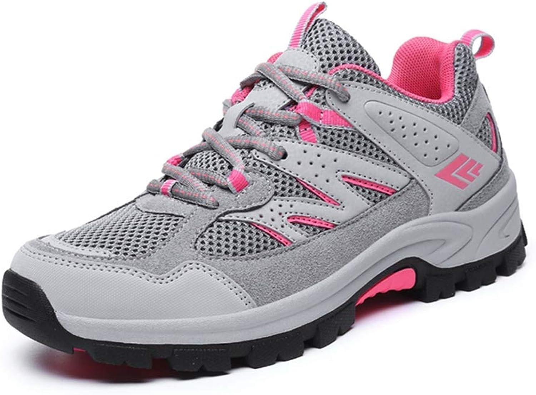 Fashion shoesbox Women's Waterproof Hiking shoes Outdoor Running Trail Hiker Casual Anti-Slip Climbing Backpacking shoes
