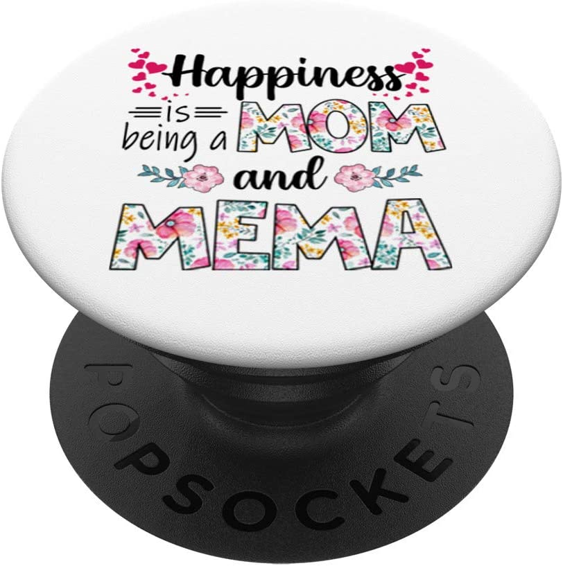 Womens Happiness is Being 40% OFF Cheap Sale a Trust Mom Gifts Florals And MEMA Cute PopS