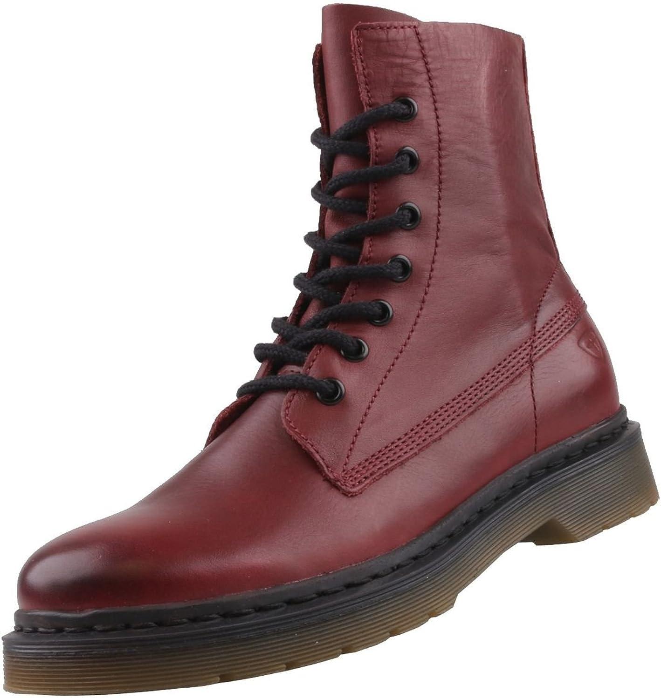 Tamaris Damen Stiefel Stiefel Stiefel Rot  659167