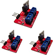 Ancai IRF520 MOS FET MOSFET Driver Module for Arduino Pack of 3