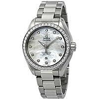 Omega Seamaster Aqua Terra Automatic Chrono Diamond Women's Watch