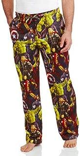 Marvel Avengers Comic Book Print Men's Sleep Lounge Pants Captain America