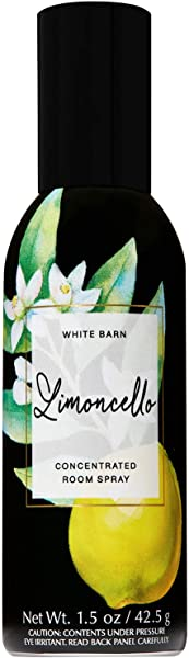 Bath And Body Works Limoncello Concentrated Room Spray 1 5 Ounce 2019 Spring Edition White Barn Label
