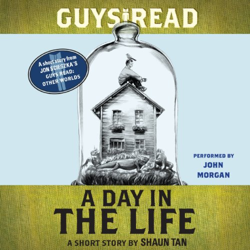 Guys Read: A Day in the Life audiobook cover art