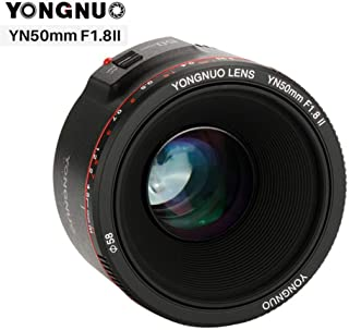 Photo Studio Accessories - YN50mm F1.8 II Large Aperture Auto Focus Lens for for Canon Bokeh Effect Camera Lens for for Ca...