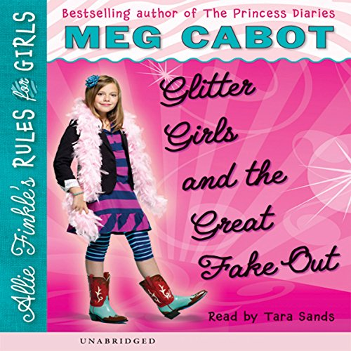 Glitter Girls and the Great Fake-Out audiobook cover art