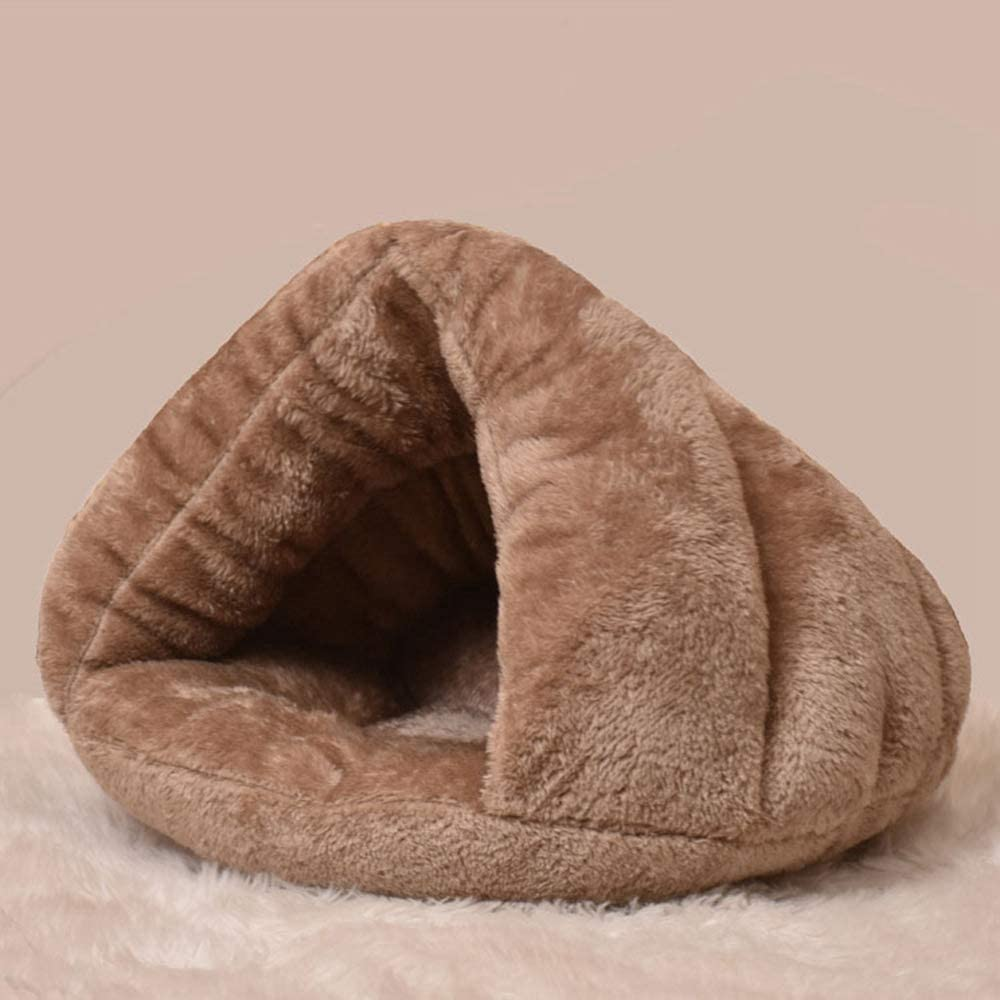 WOAILUO Soft Plush Mat Cave Industry No. 1 Pet Hous Bed Winter Supplies Sale price Dog
