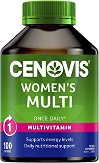 Cenovis Women's Multi - Multivitamin for women - Supports energy levels - Supports calcium absorption, 100 Capsules