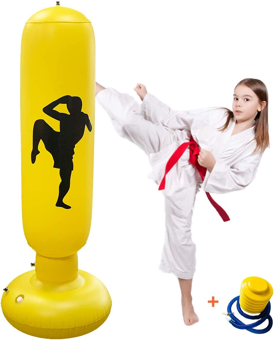 Inflatable We OFFer at cheap prices Boxing Punching Fixed price for sale Bag Fitness Pun Decompression 63Inch