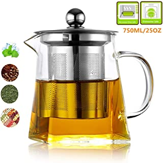 Kjf Glass Tea Pot