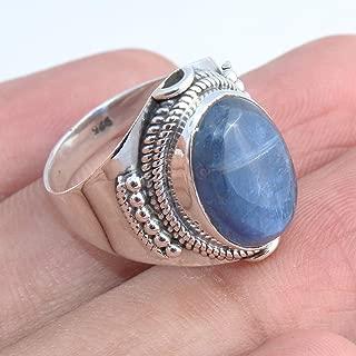 Natural Kyanite 925 Sterling Silver Ring Handmade Jewelry