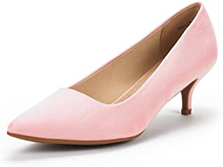 85a93f23faa DREAM PAIRS Women s Moda Low Heel D Orsay Pointed Toe Pump Shoes
