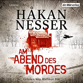 Am Abend des Mordes                   Autor:                                                                                                                                 Håkan Nesser                               Sprecher:                                                                                                                                 Dietmar Bär                      Spieldauer: 12 Std. und 35 Min.     430 Bewertungen     Gesamt 4,2