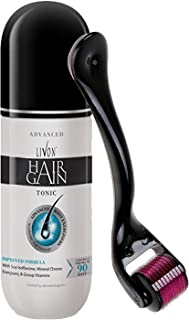 Livon Hair Gain Tonic For Men, 150 ml with Elmask Dermaroller (Titanium Needles)