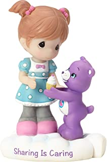 Precious Moments Company 163414 Precious Moments, Care Bears, Sharing Is Caring, Resin Figurine, 163414,Multi