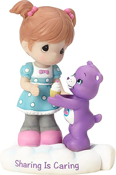 Precious Moments Company 163414 Precious Moments Care Bears Sharing Is Caring Resin Figurine 163414 Multi