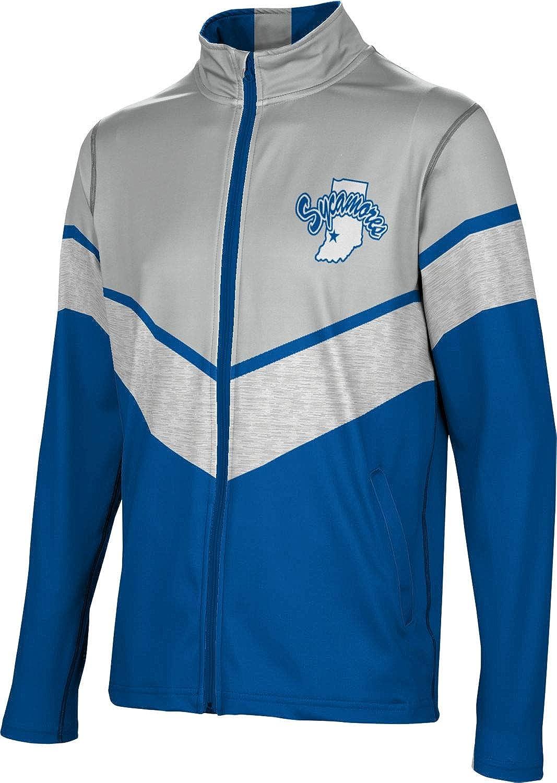 ProSphere discount Lowest price challenge Indiana State University Men's Full Jacket - Zip Elite