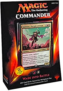 red white commander deck