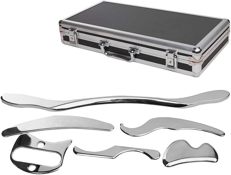 Stainless Steel Gua Sha Scraping Massage Ranking TOP17 6 Set of Pieces Tool High order fo
