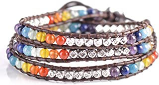 Dazzling Handmade Leather Wrap Bracelet Collection