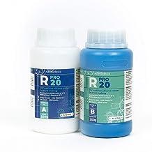 R PRO 20 - Siliconen vloeibaar, siliconen rubber dupliceersiliconen, Afvormmassa, and siliconenrubber 1:1 (500 gr)