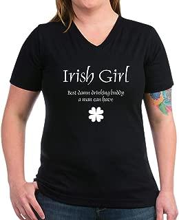 irish girl drinking buddy shirt