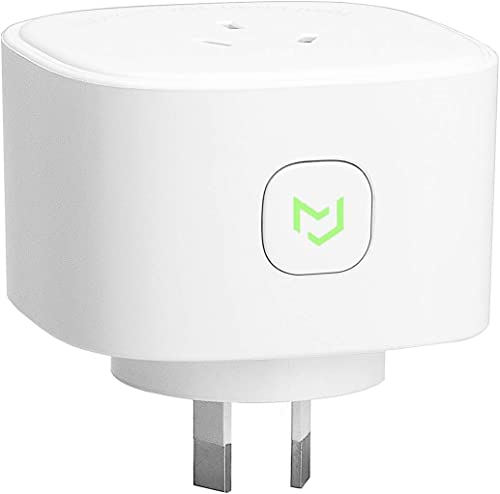 Meross Smart Plug WiFi Outlet with Energy Monitor, App Remote Control, Timing Function, Works with Amazon Alexa, Goog...