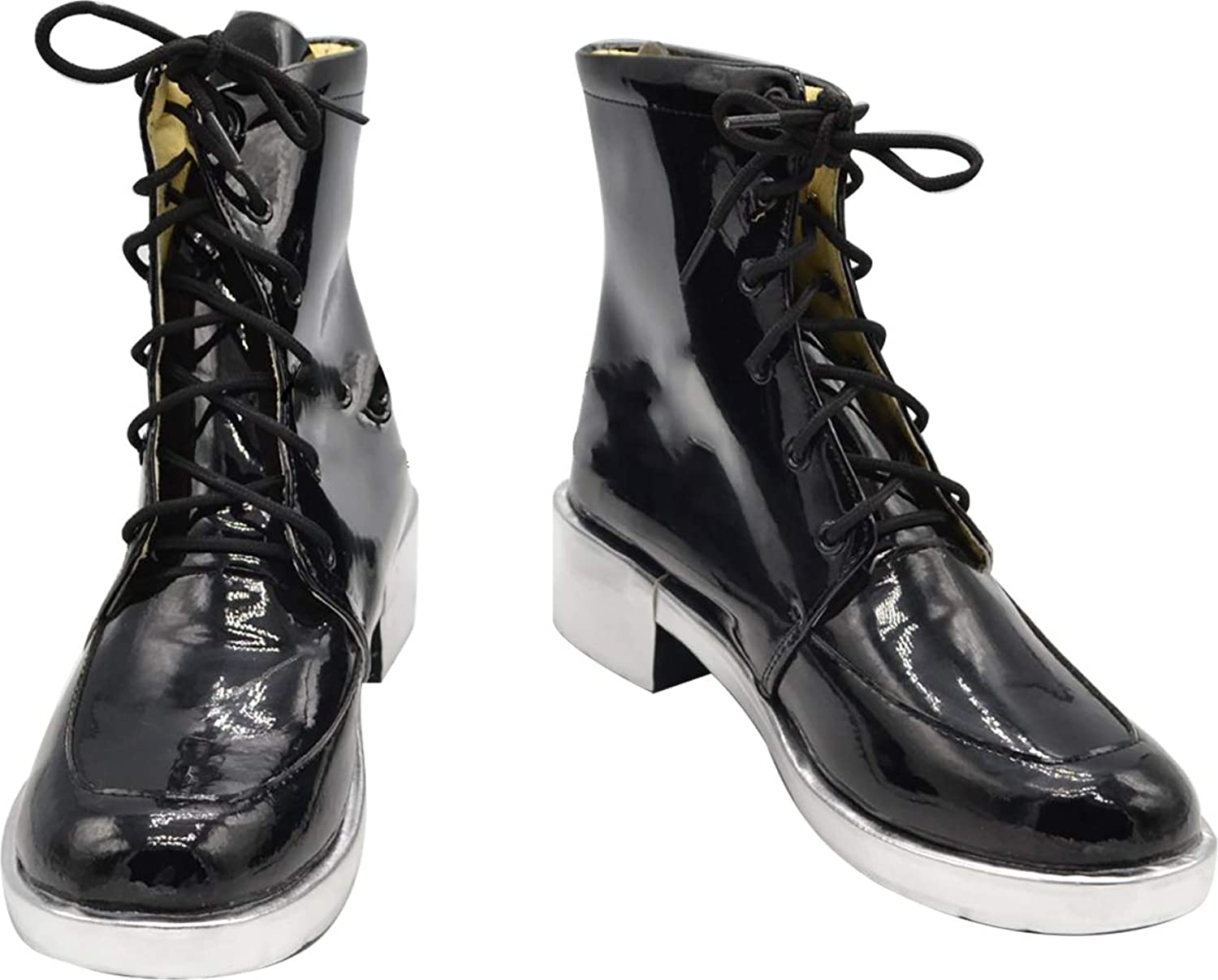GSFDHDJS Cosplay Boots shoes for Tokyo Ghoul Kaneki Ken black