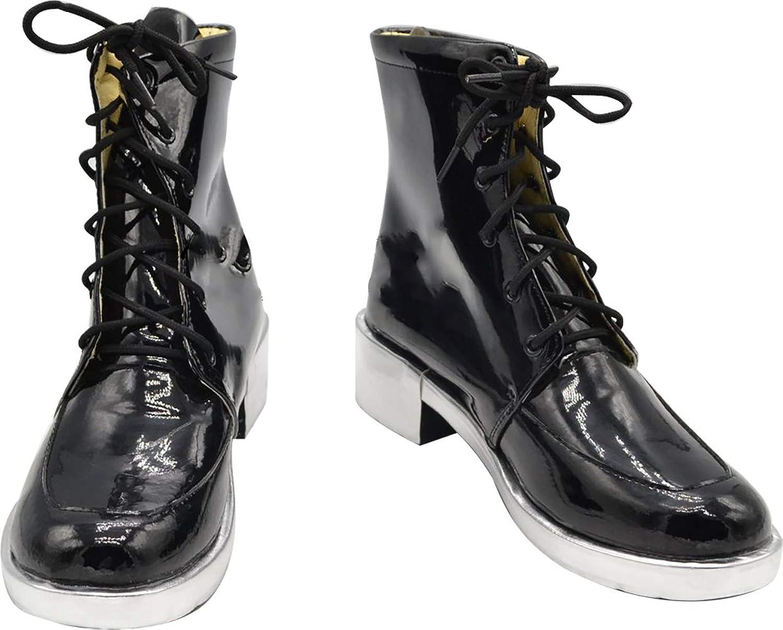 698c1af59ed Boots shoes for Tokyo Ghoul Kaneki Ken black Cosplay GSFDHDJS ...