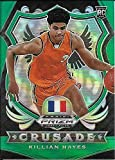 2020-21 Panini Prizm Draft Picks Green Prizms #92 Killian Hayes/Crusade
