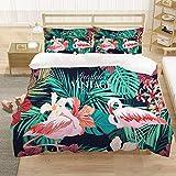 Bedclothes-Blanket Juego de sabanas Infantiles Cama 90,Ropa de Cama de Tres Piezas de impresión Digital 3D-1_220 * 260cm (Tres Piezas)