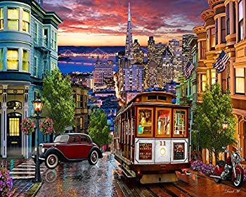 San Francisco Trolley Jigsaw Puzzle 1000 Puzzle