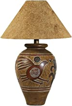 Indian Bird Handcrafted Southwest Table Lamp