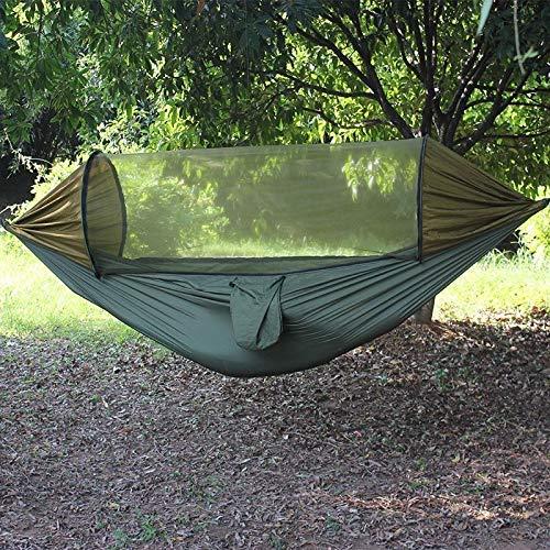 TNSYGSB Hamaca de la nueva sombrilla antimosquitos, toalla de paracaídas Swing Second Speed multifuncional abierta silla de camping