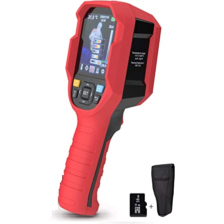 """IR Infrared Thermal Imager Camera Rechargeable Handheld, Beaspire 35200 Pixels Temperature Automatic Tracking Thermal Imaging Camera with 3.5"""" LCD Display"""
