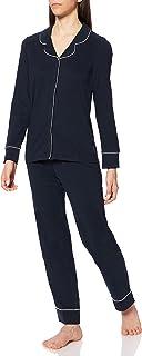 ESPRIT Women's Beautiful Basics Nw Coo Pyjama Lslv_lg Pajama Set